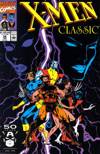 Cover for X-Men Classic (Marvel, 1990 series) #56 [Direct Edition]