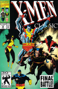 Cover Thumbnail for X-Men Classic (Marvel, 1990 series) #70 [Direct Edition]