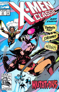 Cover Thumbnail for X-Men Classic (Marvel, 1990 series) #71 [Direct]