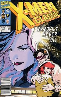 Cover Thumbnail for X-Men Classic (Marvel, 1990 series) #78 [Newsstand]