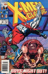 Cover Thumbnail for X-Men Classic (Marvel, 1990 series) #87 [Newsstand]
