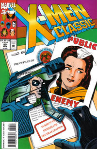 Cover Thumbnail for X-Men Classic (Marvel, 1990 series) #89 [Direct Edition]
