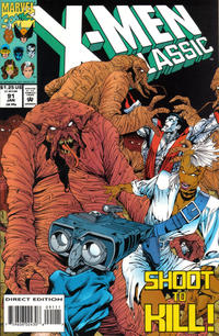 Cover Thumbnail for X-Men Classic (Marvel, 1990 series) #91 [Direct Edition]
