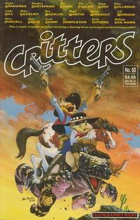 Cover Thumbnail for Critters (Fantagraphics, 1986 series) #50