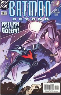 Cover Thumbnail for Batman Beyond (DC, 1999 series) #10