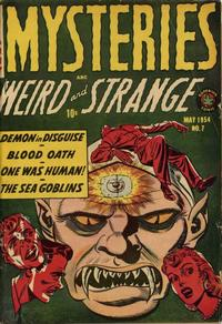 Cover Thumbnail for Mysteries (Superior, 1953 series) #7
