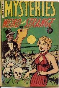 Cover Thumbnail for Mysteries (Superior Publishers Limited, 1953 series) #9