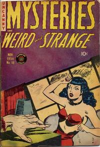 Cover Thumbnail for Mysteries (Superior, 1953 series) #10