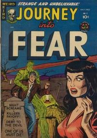 Cover Thumbnail for Journey into Fear (Superior Publishers Limited, 1951 series) #2
