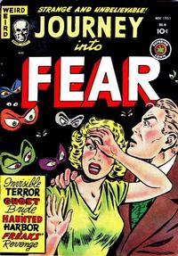 Cover Thumbnail for Journey into Fear (Superior Publishers Limited, 1951 series) #4
