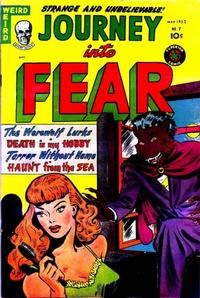 Cover Thumbnail for Journey into Fear (Superior Publishers Limited, 1951 series) #7