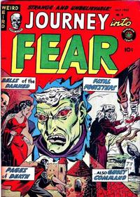Cover Thumbnail for Journey into Fear (Superior Publishers Limited, 1951 series) #8