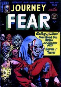 Cover Thumbnail for Journey into Fear (Superior Publishers Limited, 1951 series) #10
