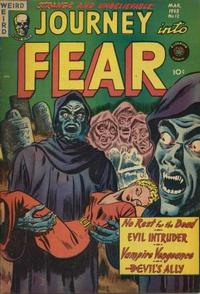 Cover Thumbnail for Journey into Fear (Superior Publishers Limited, 1951 series) #12