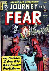 Cover Thumbnail for Journey into Fear (Superior Publishers Limited, 1951 series) #14