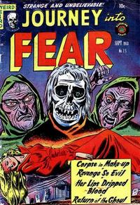 Cover Thumbnail for Journey into Fear (Superior Publishers Limited, 1951 series) #15