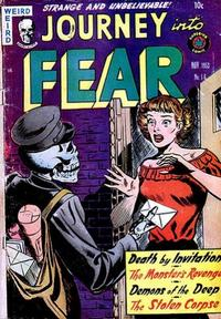Cover Thumbnail for Journey into Fear (Superior Publishers Limited, 1951 series) #16