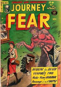 Cover Thumbnail for Journey into Fear (Superior, 1951 series) #17