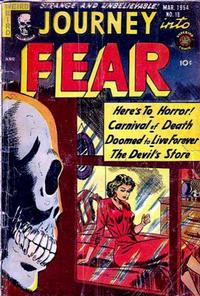 Cover Thumbnail for Journey into Fear (Superior, 1951 series) #18