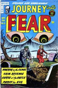 Cover Thumbnail for Journey into Fear (Superior, 1951 series) #21
