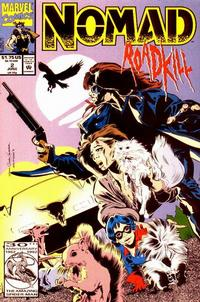 Cover Thumbnail for Nomad (Marvel, 1992 series) #2 [Direct]