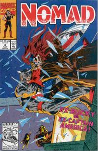 Cover Thumbnail for Nomad (Marvel, 1992 series) #3 [Direct]