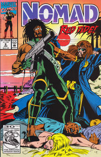 Cover Thumbnail for Nomad (Marvel, 1992 series) #9 [Direct]