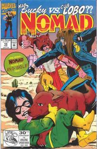 Cover Thumbnail for Nomad (Marvel, 1992 series) #10 [Direct]