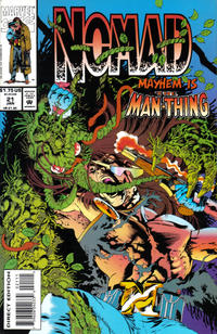 Cover Thumbnail for Nomad (Marvel, 1992 series) #21
