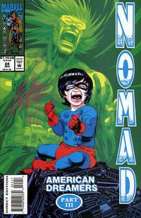Cover Thumbnail for Nomad (Marvel, 1992 series) #24