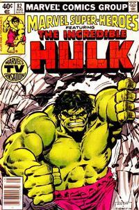 Cover for Marvel Super-Heroes (Marvel, 1967 series) #82