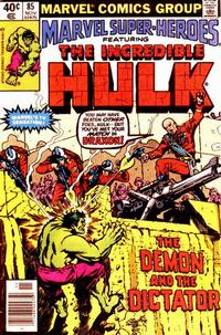 Cover Thumbnail for Marvel Super-Heroes (Marvel, 1967 series) #85