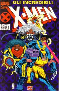 Cover Thumbnail for Gli Incredibili X-Men (Marvel Italia, 1994 series) #62
