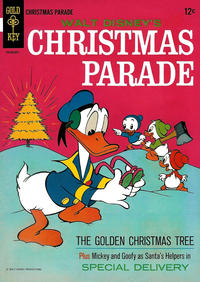 Cover Thumbnail for Walt Disney's Christmas Parade (Western, 1963 series) #4