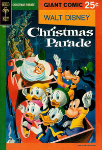 Cover Thumbnail for Walt Disney's Christmas Parade (Western, 1963 series) #6