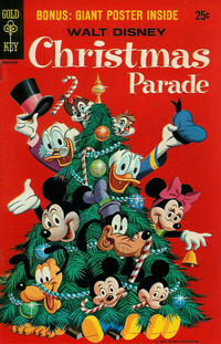Cover Thumbnail for Walt Disney's Christmas Parade (Western, 1963 series) #7