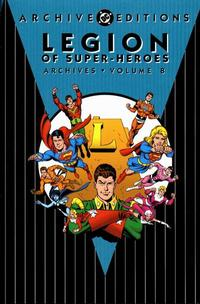Cover Thumbnail for The Legion of Super-Heroes Archives (DC, 1991 series) #8