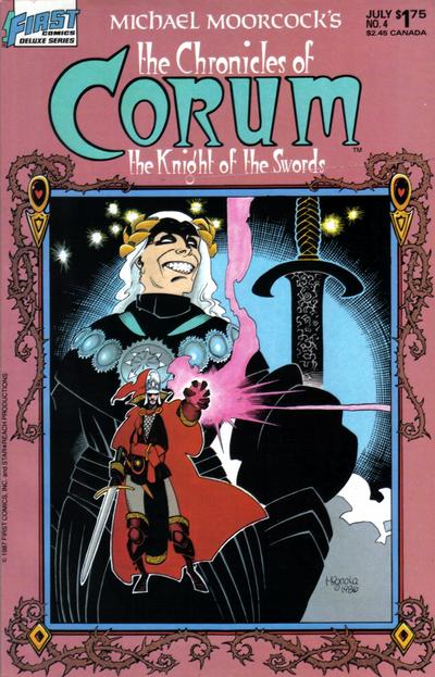 Cover for The Chronicles of Corum (First, 1987 series) #4