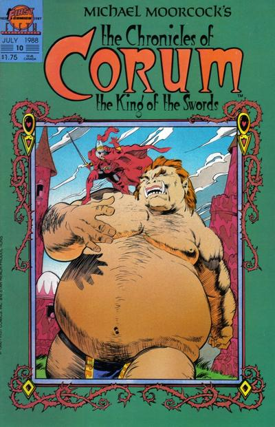Cover for The Chronicles of Corum (First, 1987 series) #10