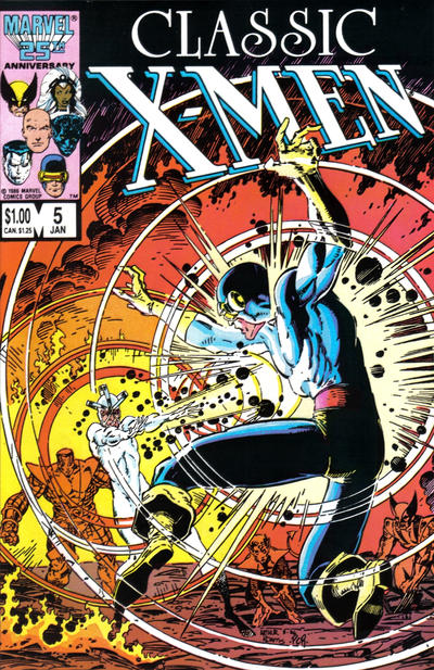 Cover for Classic X-Men (Marvel, 1986 series) #5 [Newsstand Edition]
