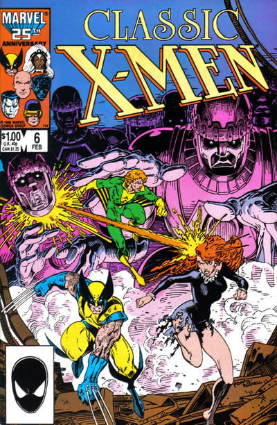 Cover for Classic X-Men (Marvel, 1986 series) #6 [Direct Edition]