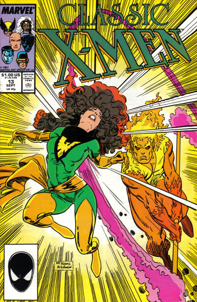 Cover for Classic X-Men (Marvel, 1986 series) #13 [Direct Edition]