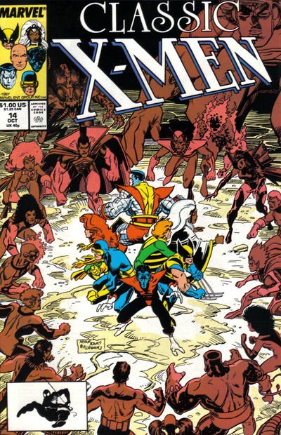 Cover for Classic X-Men (Marvel, 1986 series) #14 [Direct Edition]