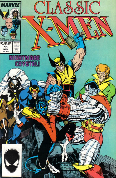 Cover for Classic X-Men (Marvel, 1986 series) #15 [Direct Edition]