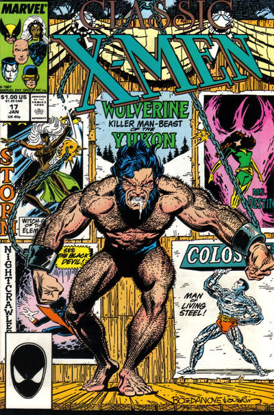 Cover for Classic X-Men (Marvel, 1986 series) #17 [Direct Edition]