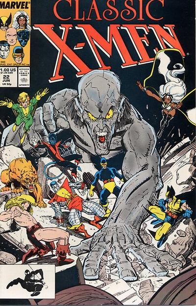 Cover for Classic X-Men (Marvel, 1986 series) #22 [Newsstand Edition]