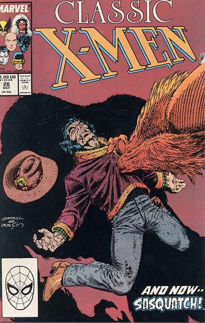 Cover for Classic X-Men (Marvel, 1986 series) #26 [Direct Edition]