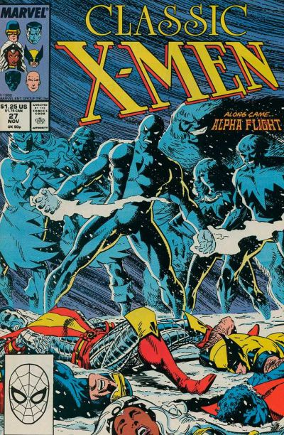 Cover for Classic X-Men (Marvel, 1986 series) #27 [Direct Edition]