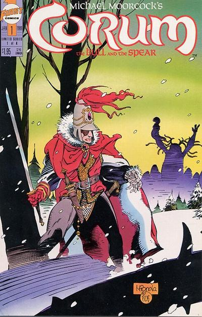 Cover for Corum: The Bull and the Spear (First, 1989 series) #1