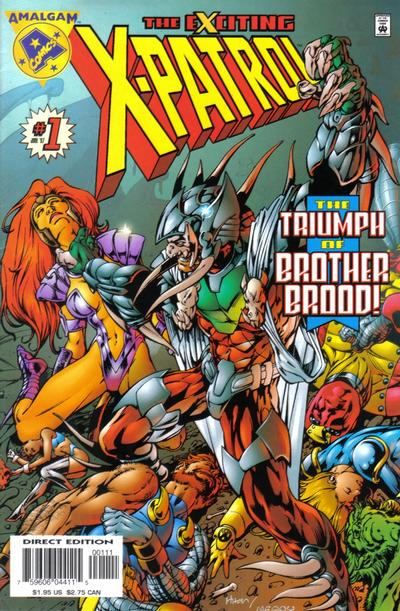 Cover for Exciting X-Patrol (DC / Marvel, 1997 series) #1